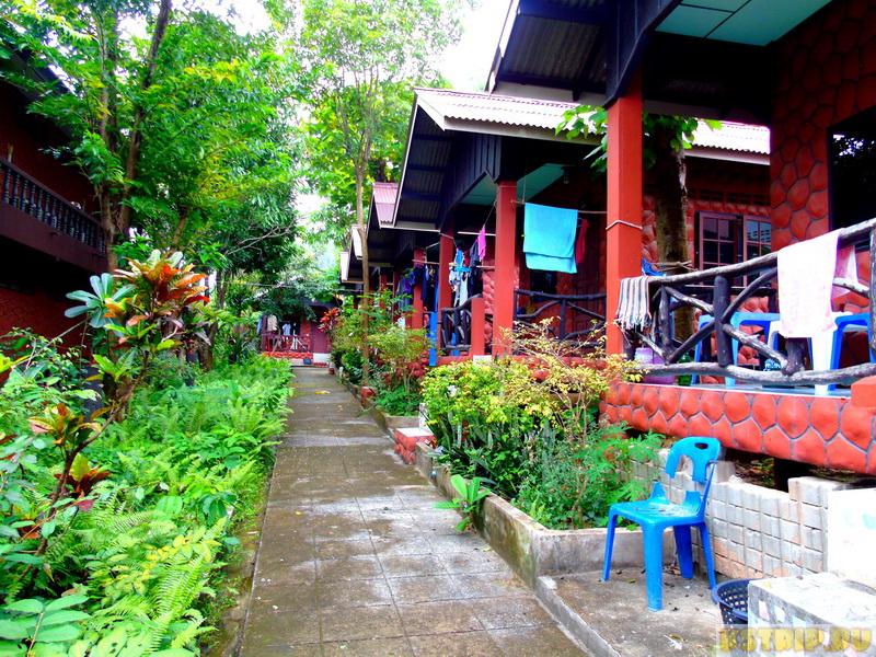 Отель Coral Bungalows на Пангане