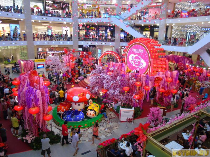 Торговый центр Pavilion в Куала-Лумпуре