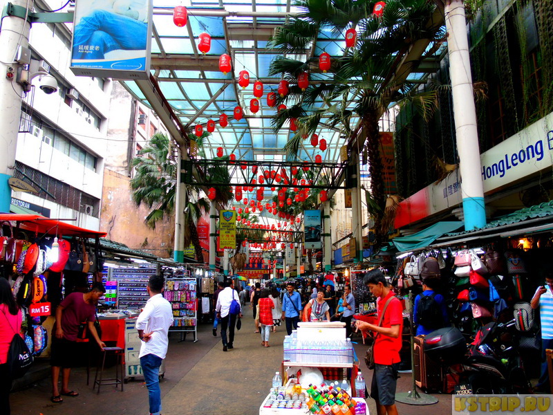 Китайский квартал в Куала-Лумпуре