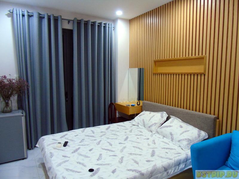 Наша комната в центре Хошимина на 2 дня – бронировали на Airbnb