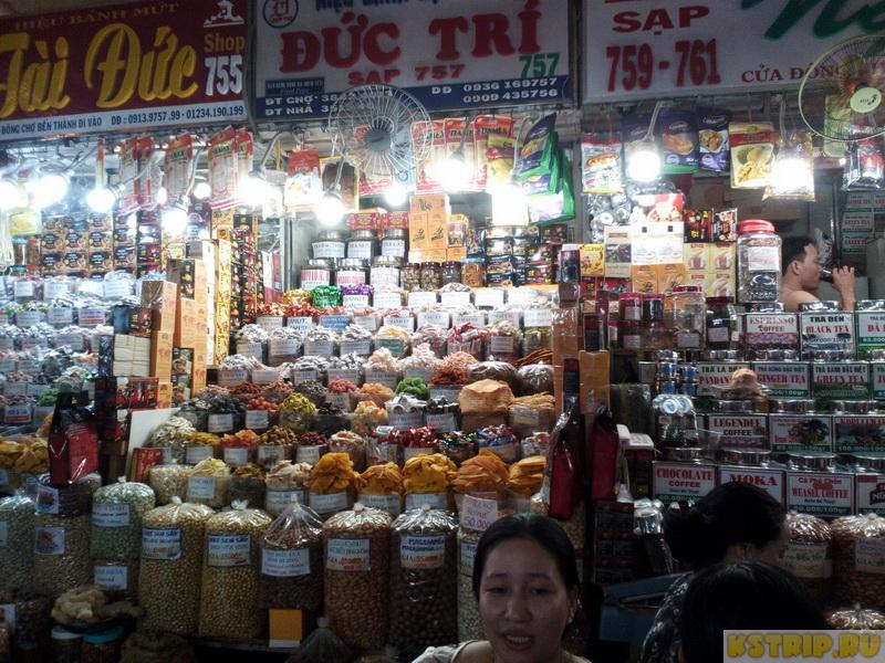 Рынок Бен Тхань в Хошимине – одежда и сувениры по завышенным ценам