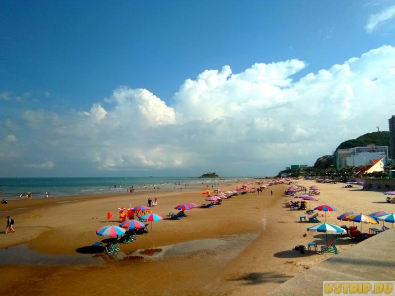 Задний пляж, или Back beach в Вунгтау
