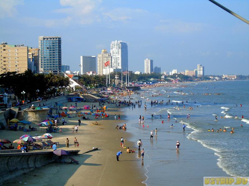 Back beach в Вунгтау