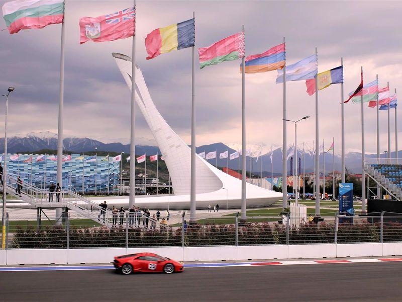 Экскурсии в Сочи: Автомобильное путешествие в Олимпийский парк