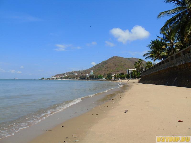 Передний пляж в Вунгтау (Front beach) и набережная – отличное место для прогулки
