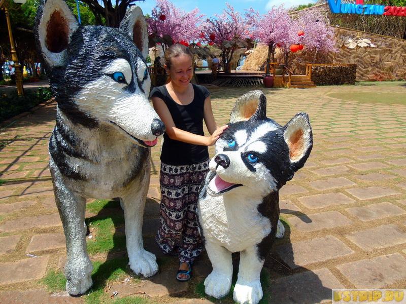 парк Khu Tam Giac в Вунгтау