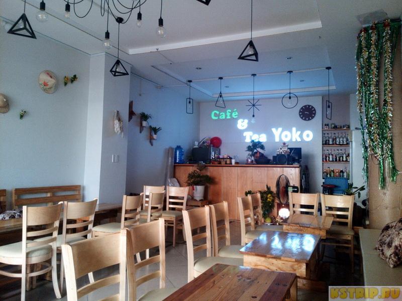 Кафе Yoko в Вунгтау