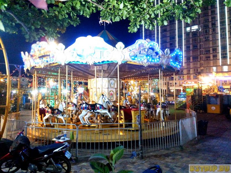 Парк аттракционов в Вунгтау