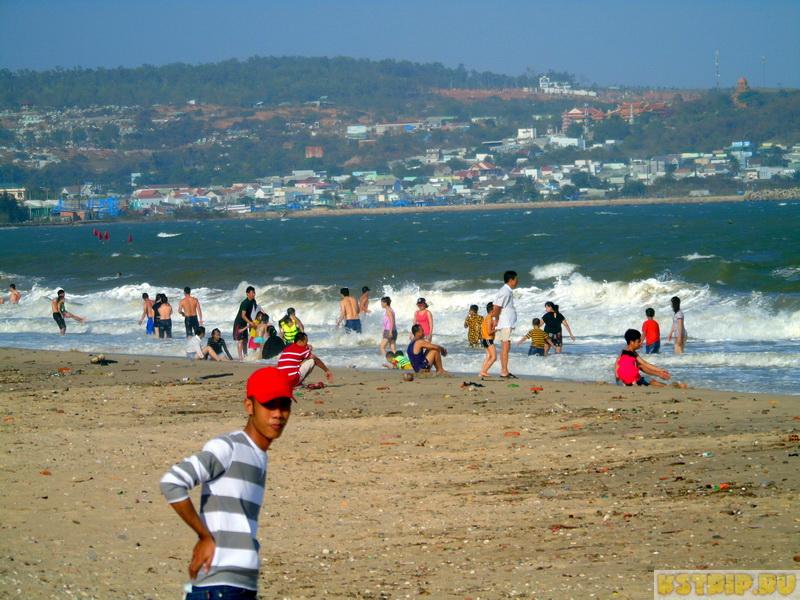 пляж в Фантьете