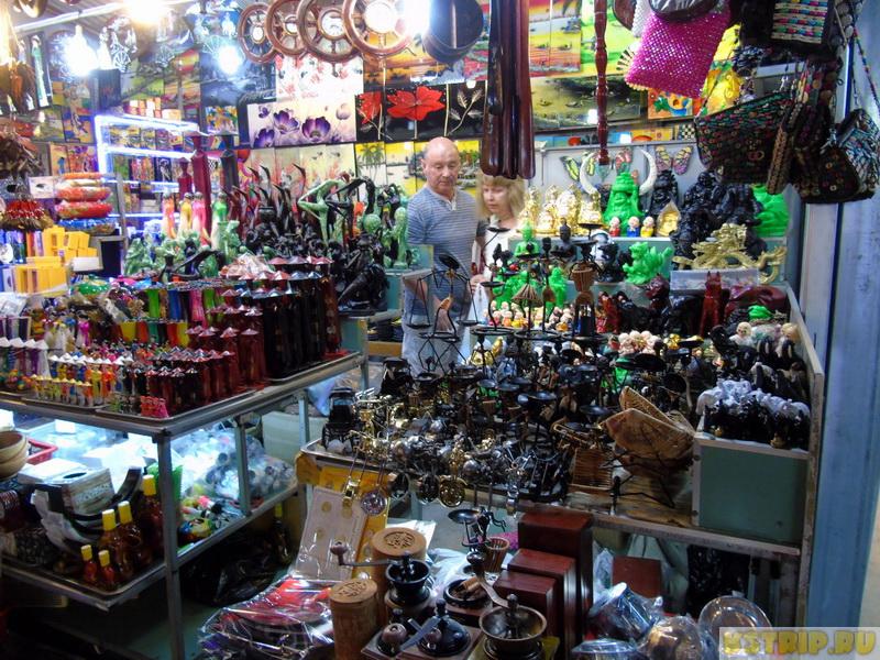 ночной рынок в Нячанге