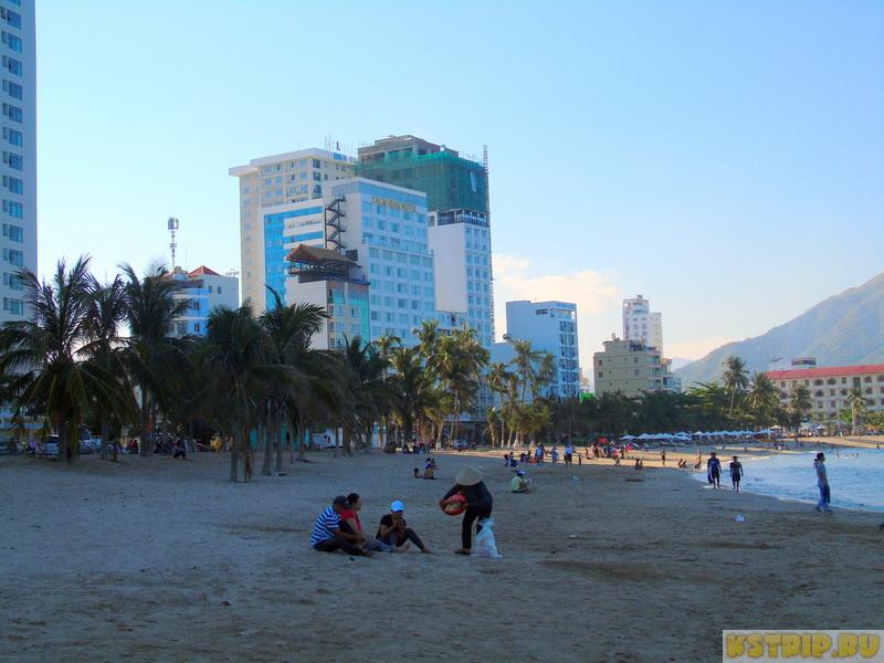 северный пляж в Нячанге