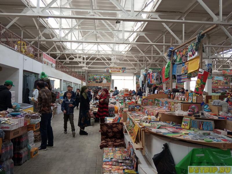 Рынок на конечке в Бухаре