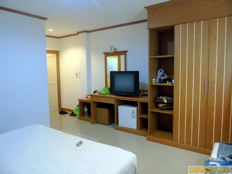 Отель Park Eden Hotel на Пхукете – ежедневная уборка, просторная комната