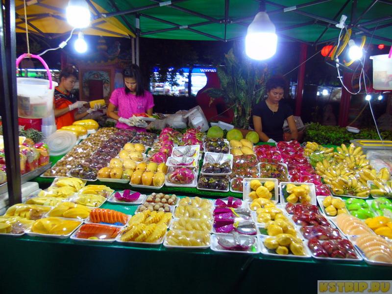 Дневной и ночной рынок на Пхукете Banzaan Market. Что купить на рынке Банзан
