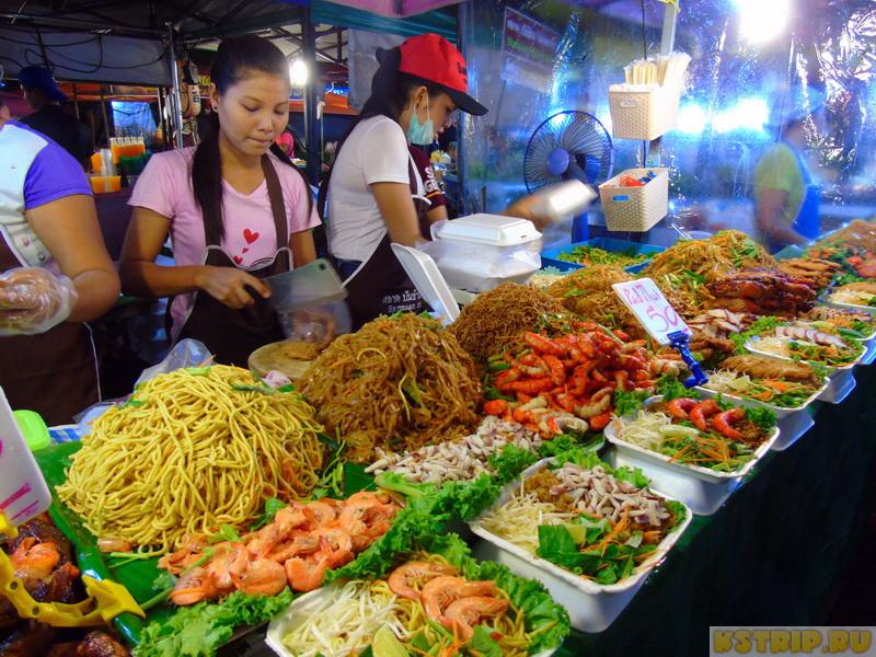 Дневной и ночной рынок на Пхукете Banzaan Market