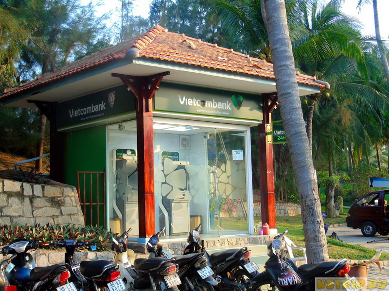 Как снять деньги в банкомате во Вьетнаме