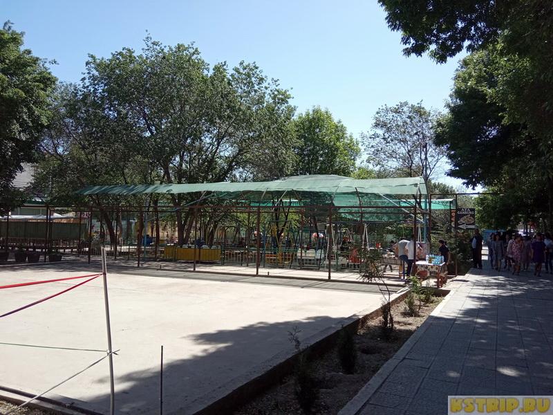 Парк развлечений в Хиве + остатки наружных стен города