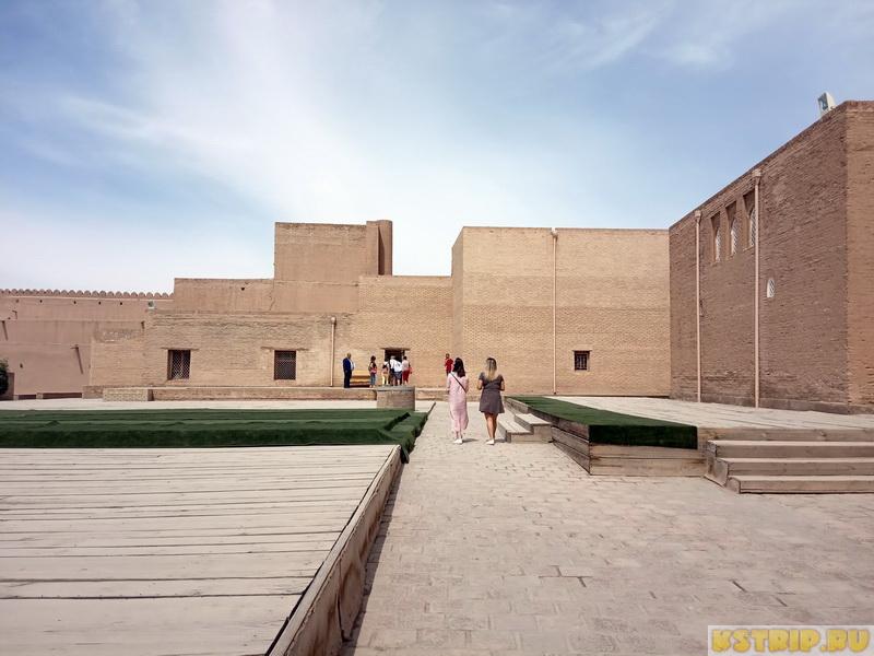 Смотровая площадка в Хиве и Крепость Куня-Арк