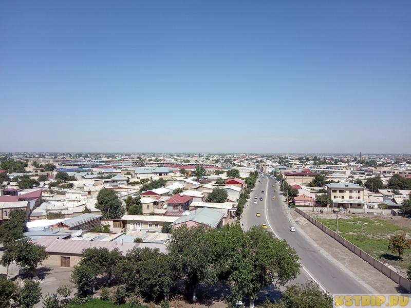 Шуховская башня в Бухаре – первая обзорная площадка в городе
