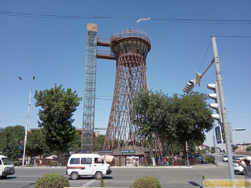 Шуховская башня в Бухаре