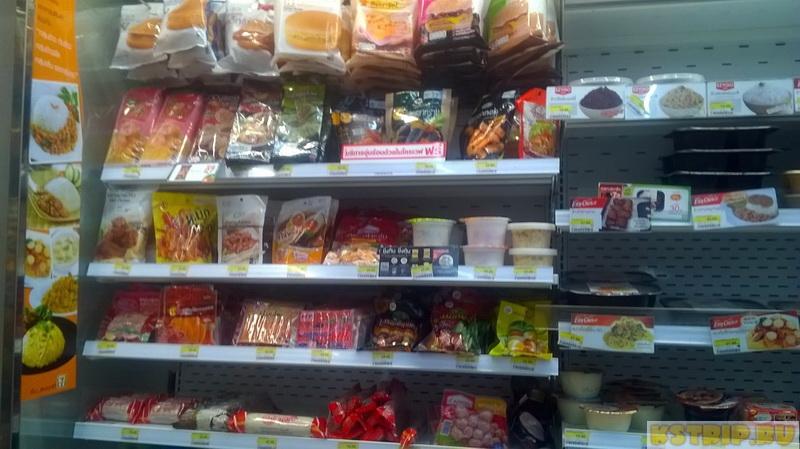 Магазины 7/11, или Что можно недорого поесть в Таиланде – блюда «ноу спайси»
