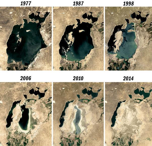 Аральское море – экологическая катастрофа региона