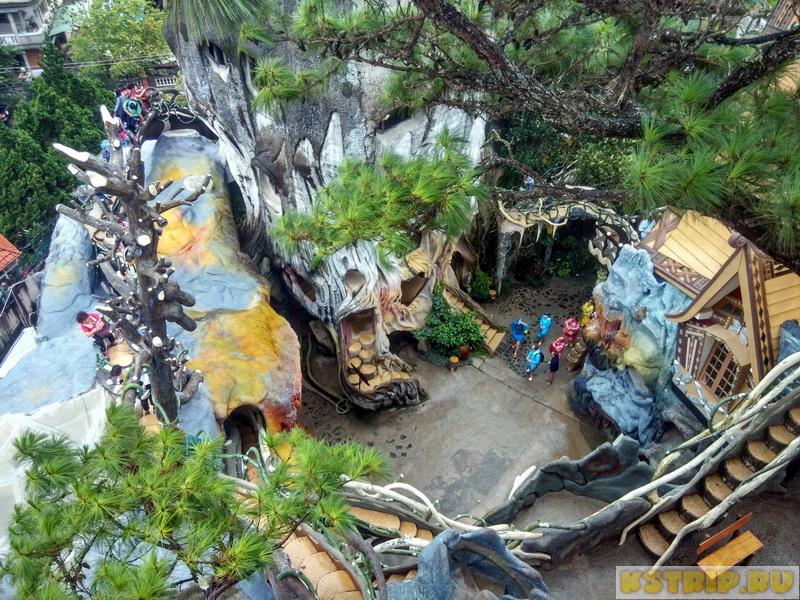 Крейзи Хауз в Далате (Crazy House Dalat) – отправляемся в сумасшедший дом