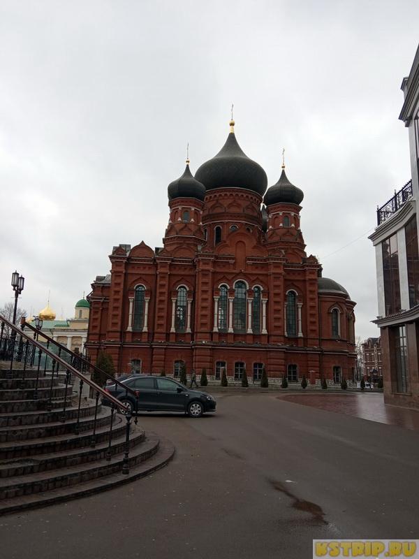 Площадь Ленина в Туле и Успенский кафедральный собор