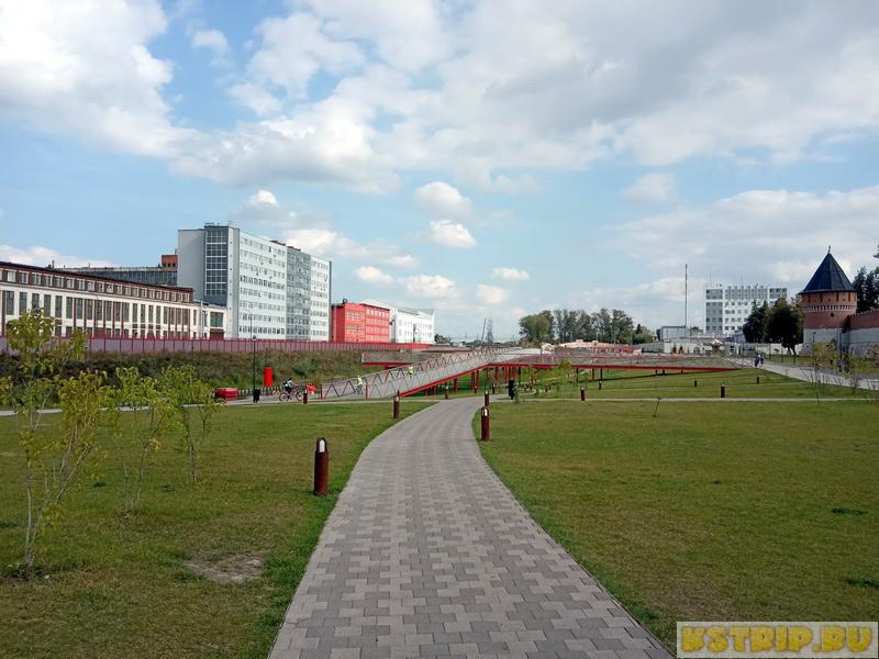 Казанская набережная в Туле на реке Упа – преображение промзоны