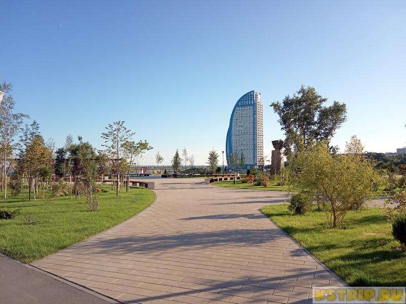 Сквер Пушкина в Волгограде – память великому поэту