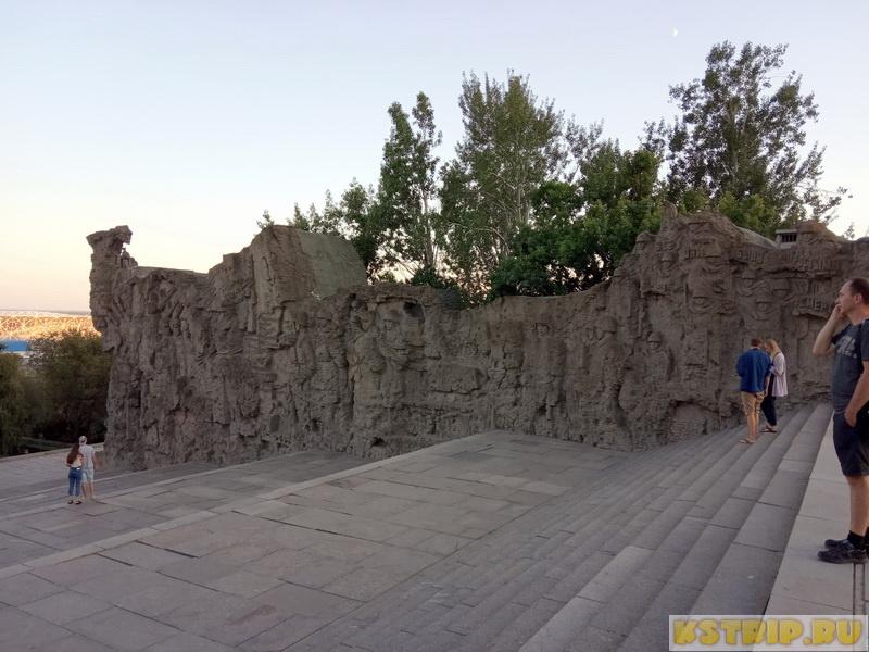 Мамаев курган в Волгограде