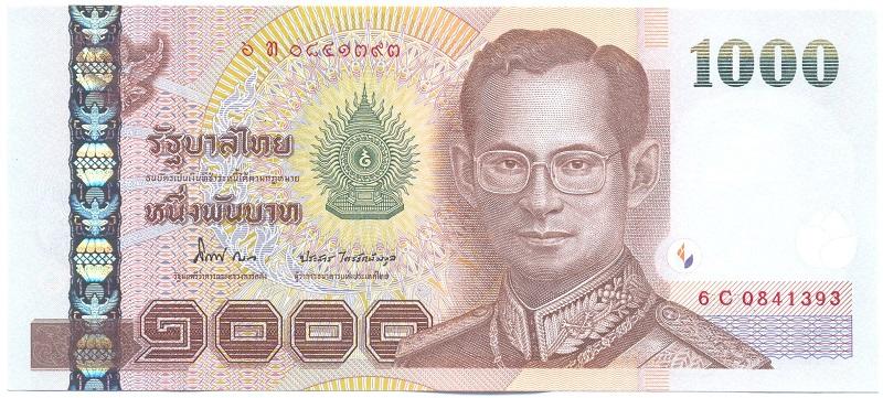 Валюта Таиланда – тайский бат